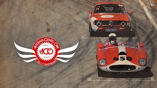 Celebrating 20th Anniversary of Modena Cento Ore