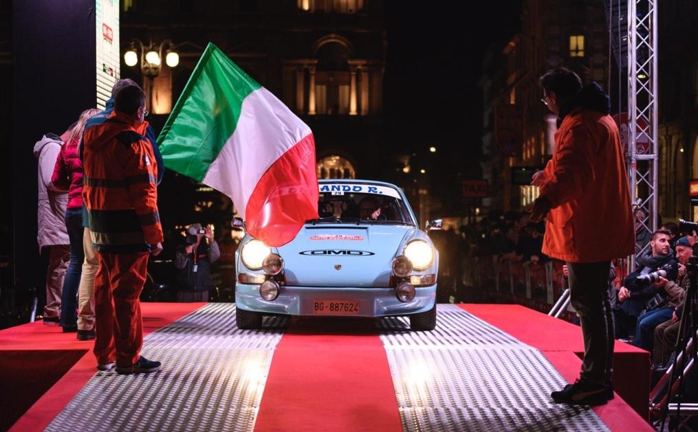 Rallye Monte-Carlo Historique and Tribute AC Milano